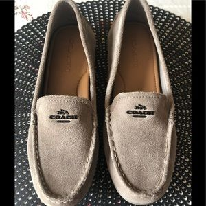 COACH Suede Driving Shoes/Loafers